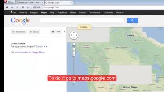 how to add your company's location via Google Maps in WordPress template