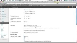 How to make wordpress blog private